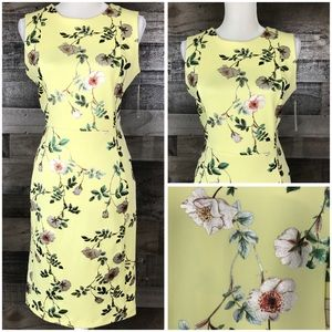 Shelby & Palmer Summer Sleeveless Dress Floral 8